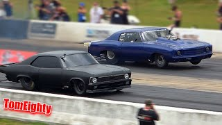 Street Outlaws drag racing at Outlaw Armageddon 5 (Day 2)