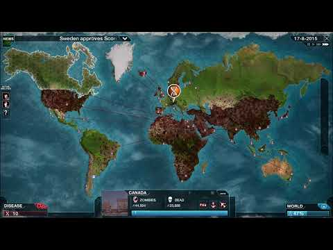 Plague Inc. - Necroa Virus (Mega Brutal) BETA