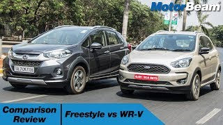 Ford Freestyle vs Honda WR-V - Comparison Review | MotorBeam