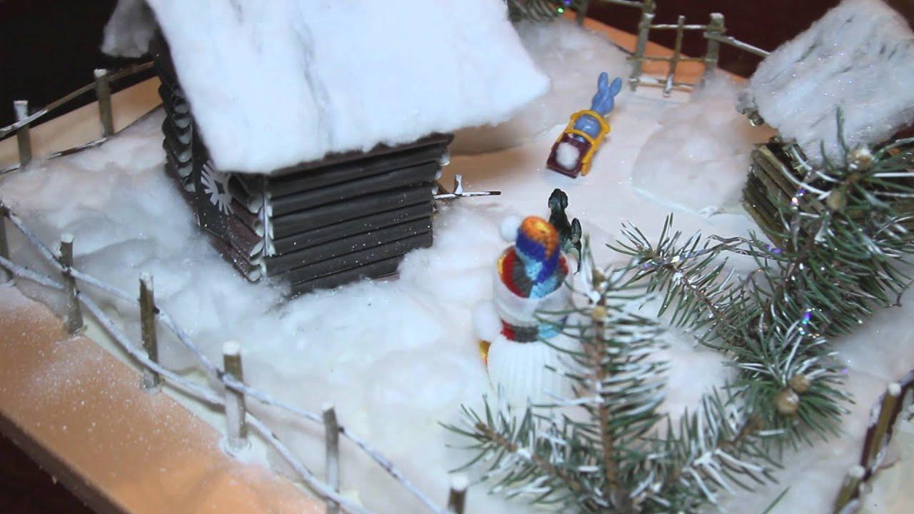 Поделка тема зима фото