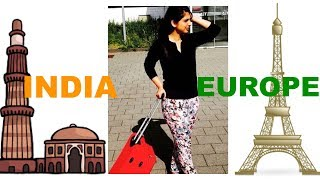 How to plan Europe trip from India [Hindi]