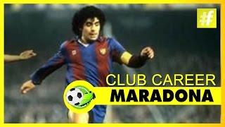 Maradona - Club Career   Football Heroes
