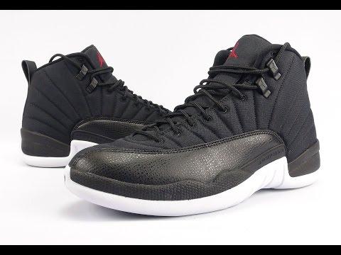 Air Jordan 12 Black Nylon Neoprene Review + On Feet