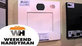 TV Mount Wall Safe from Cannon Security Products | Weekend Handyman