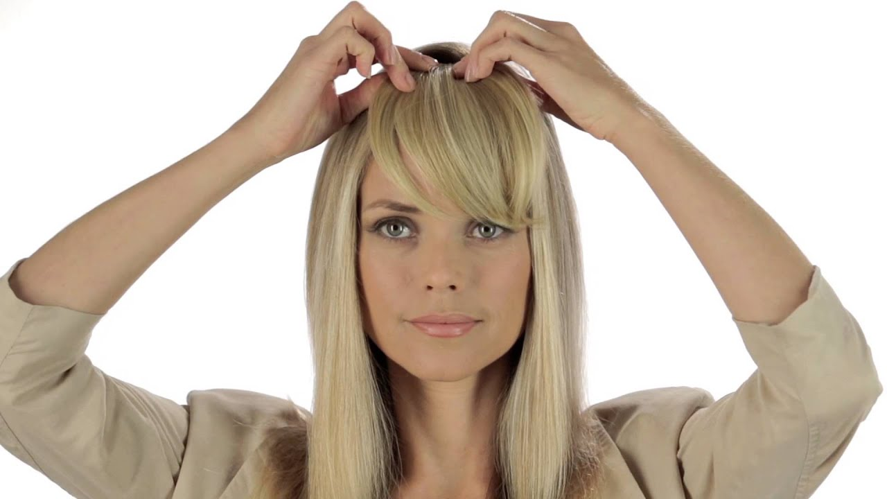 ... Full-Sweeping Side Fringe | Christie Brinkley Collection - YouTube