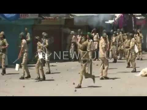 Kashmir: Security forces and civilians clash