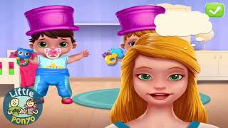 Fun Baby Care   Learn Colors Kids Games, Bath Dress up Feed Doctor   Baby Twins Care Games For Kids
