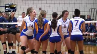Air Academy vs Rampart volleyball full broadcast