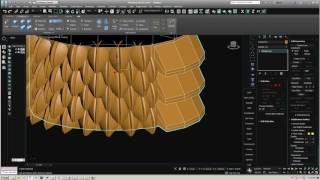 How to modeling snake body brush using Zbrush,3dsmax_p2