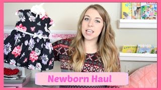 NEWBORN BABY GIRL HAUL l SECOND TIME AROUND