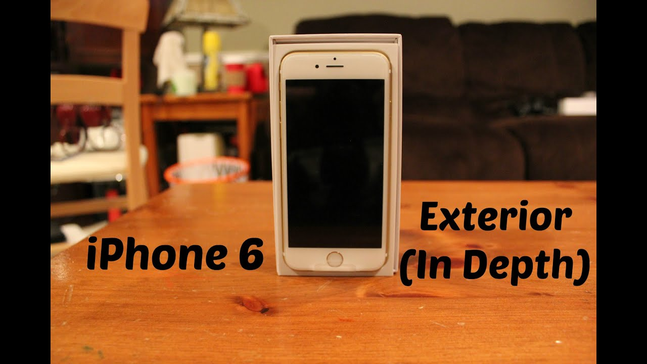Iphone 6 exterior in depth youtube for Iphone fish finder