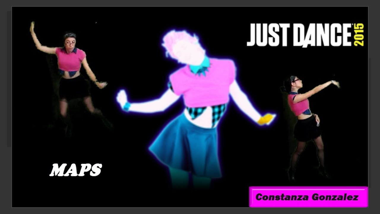 Just Dance 2015 Maps Maroon 5 Youtube