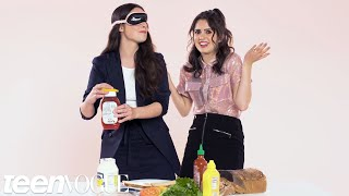 Laura and Vanessa Marano Play I Dare You | Teen Vogue