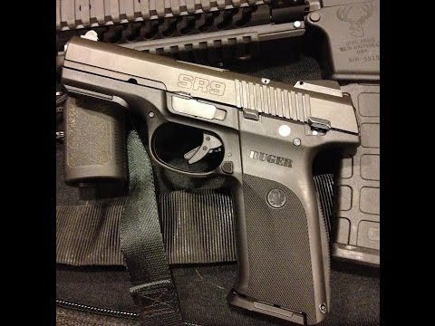 NEW RUGER SR9 NITRON UNBOXING AND SHOOTING