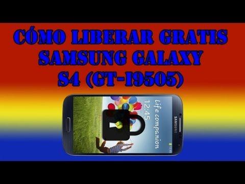 Cómo liberar gratis el Samsung Galaxy S4 (GT-I9505) - Ya no funciona