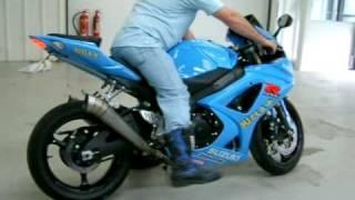 Suzuki GSXR 1000 Moto GP Rizla replica with Yoshi exhaust system.