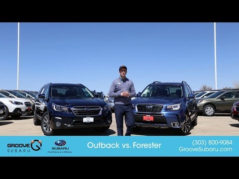 2018 Subaru Outback vs Forester: what's the difference?