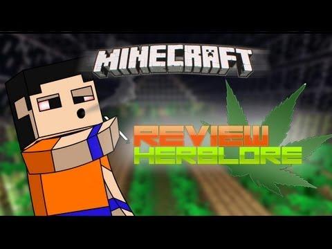 Minecraft de PC: Review del HERBLORE (Marihuana) MOD para version 1.3.2!!
