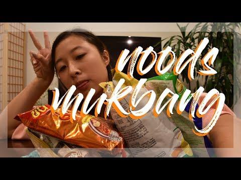 RAMEN MUKBANG | Ucla Mukbang