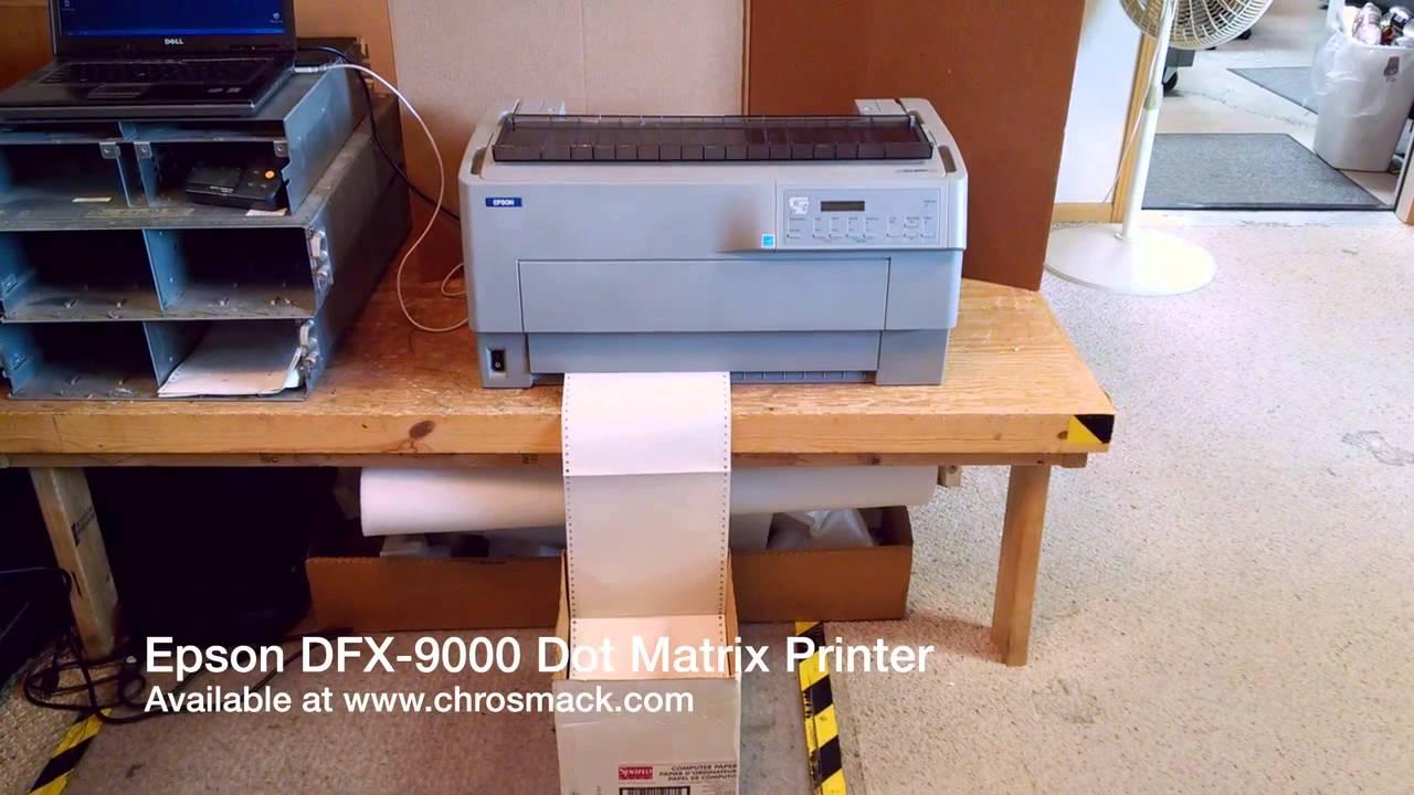 Impresora Epson Dfx 9000 Epson Dfx 9000 Dot Matrix
