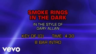 Gary Allan Smoke Rings In The Dark Karaoke
