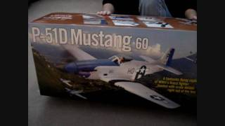 Hangar 9  Blue Nose P-51 Mustang Build Video Part I