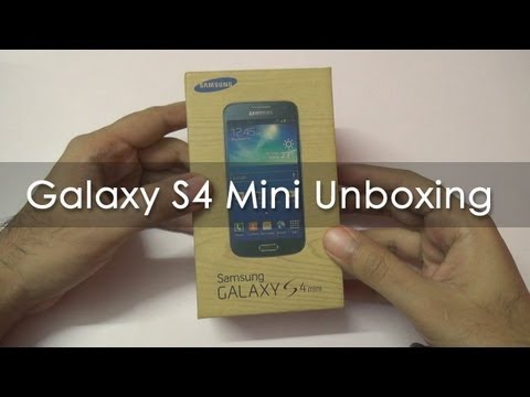 Samsung Galaxy S4 Mini Unboxing & Hands On Overview