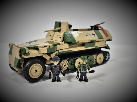Small army ww2 Sd.Kfz.251/10 Ausf.C (2472) Review