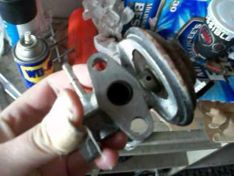 2000 toyota RAV4 EGR valve cleaning