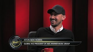 Global Vice President of A&R for Warner Music Group Aton Ben-Horin - Pensado's Place #319