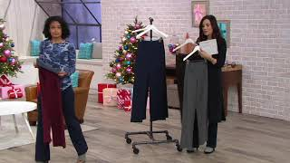Women with Control Tummy Control Tushy Lifter Boot-Cut Pants on QVC