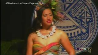 2016 Miss American Samoa Pageant