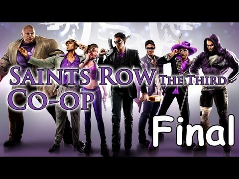 Saints Row 3 Co-op Oynuyoruz; ep.23 - Final