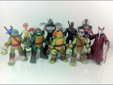 Review: Teenage Mutant Ninja Turtles (2012) - Basic Figures Wave 1
