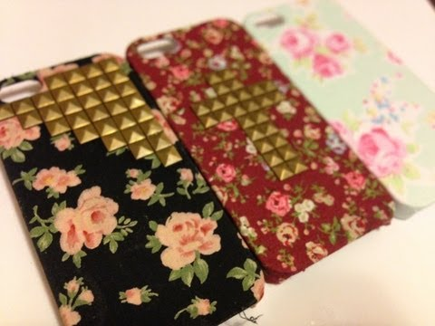 DIY Wildflower Inspired Case