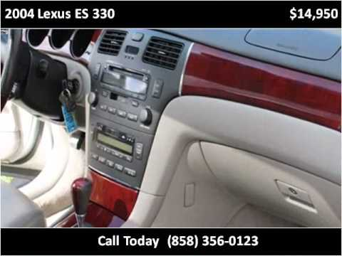 2004 Lexus ES 330 available from ACV Wholesale Warehouse
