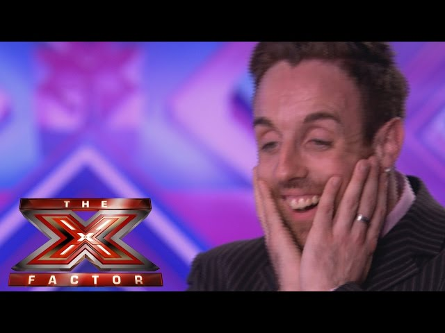 Stevie Ritchi sings Olly Murs' Dance With Me Tonight - Audition Week 1 - The X Factor UK 2014
