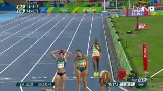 ذهب ورقم أولمبي للكينية شيرويوت في سباق 5 آلاف م