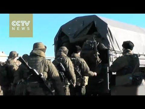 NATO accuses Russia of breaking ceasefire in Ukraine