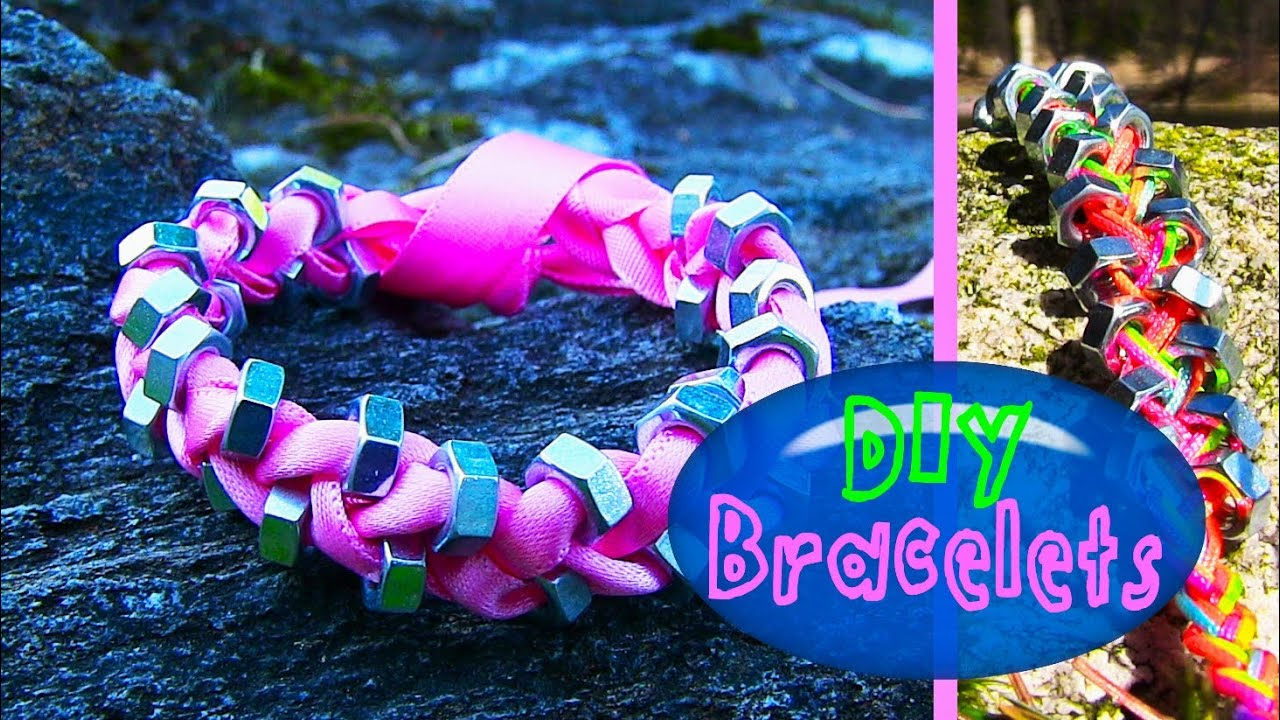 Stringing Beads on Ribbon Diy String Amp Ribbon Bracelet