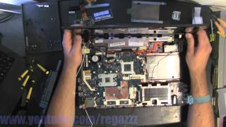ACER ASPIRE 5750 5750G  take apart, disassemble, how to open, video disassembly