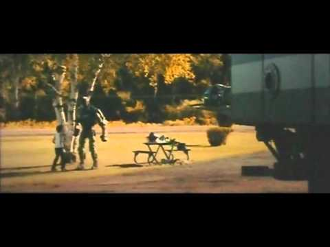 Real Steel Dance Trailer - dancing Robot Atom  with  Max (Dakota Goyo) & Hugh Jackman Music Videos