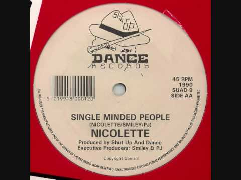 Shut Up & Dance feat Nicolette - Single Minded People
