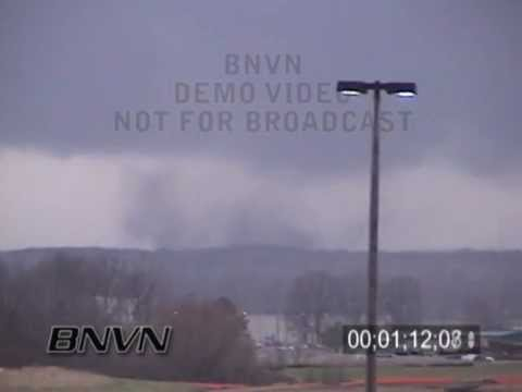 2/5/2008 Gallaway, TN Tornado - Super Tuesday Tornado Outbreak Video