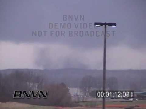 2/5/2008 Gallaway, TN Tornado - Super Tuesday Tornado Outbreak Video