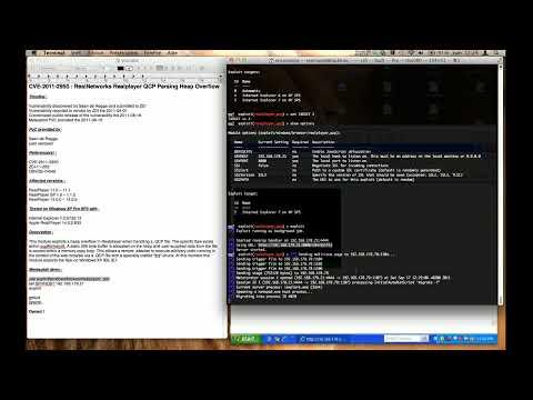 CVE-2011-2950 : RealNetworks Realplayer QCP Parsing Heap Overflow