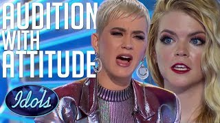 Download Lagu AUDITION With ATTITUDE! Can Koby Sing?! Katy Perry Tells Her How It Is... American Idol 2018 Gratis STAFABAND