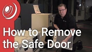 How to Remove Your Safe Door - Dye the Safe Guy