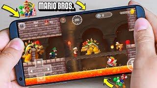 El Mejor juego de Mario Bros en 3D para Android  - DESCARGA OFICIAL - Super Graficos