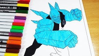 Coloring Pages Ben 10 Diamondhead - Coloring Videos Ben 10 Coloring for Kids Coloring Book 2017